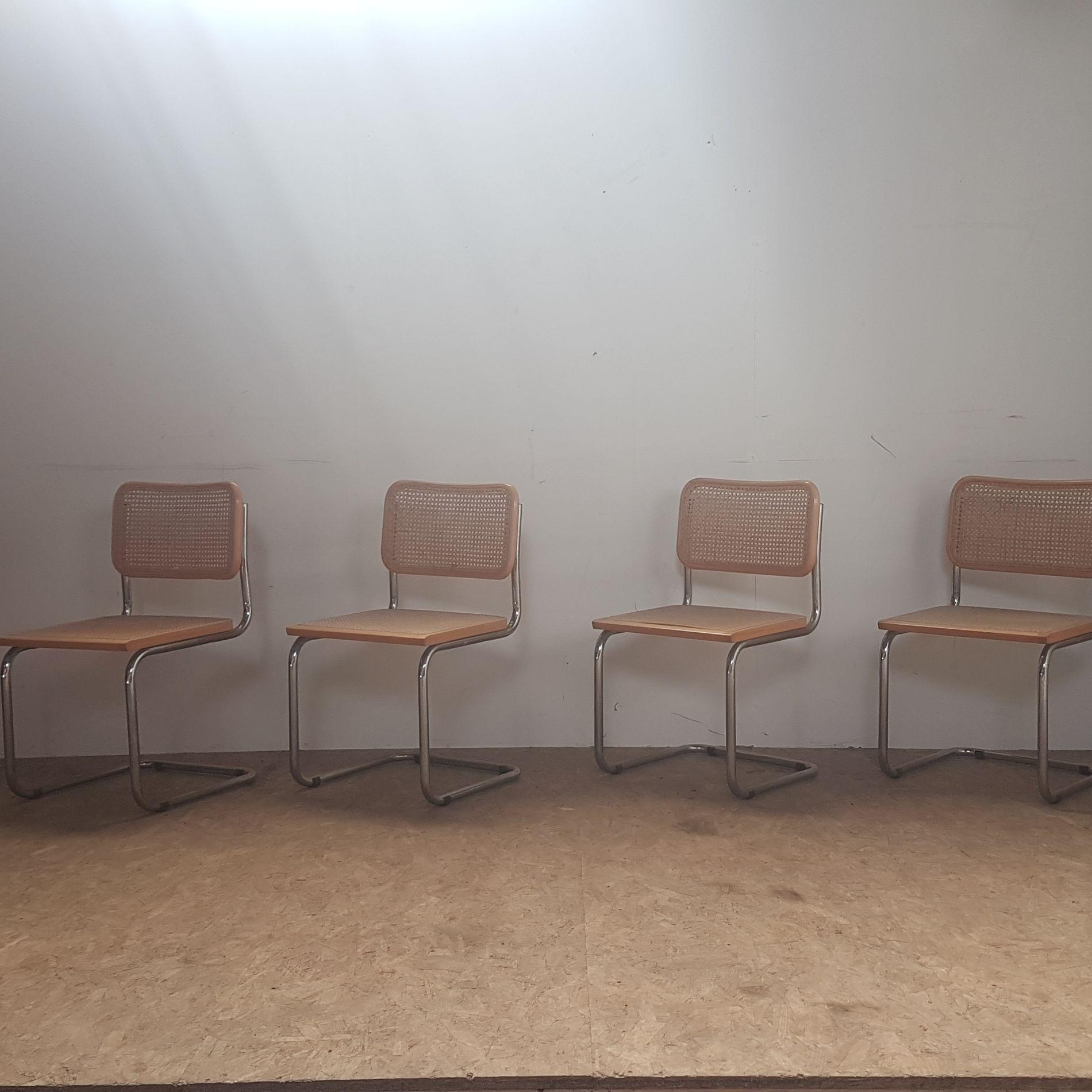 4 stoelen cesca