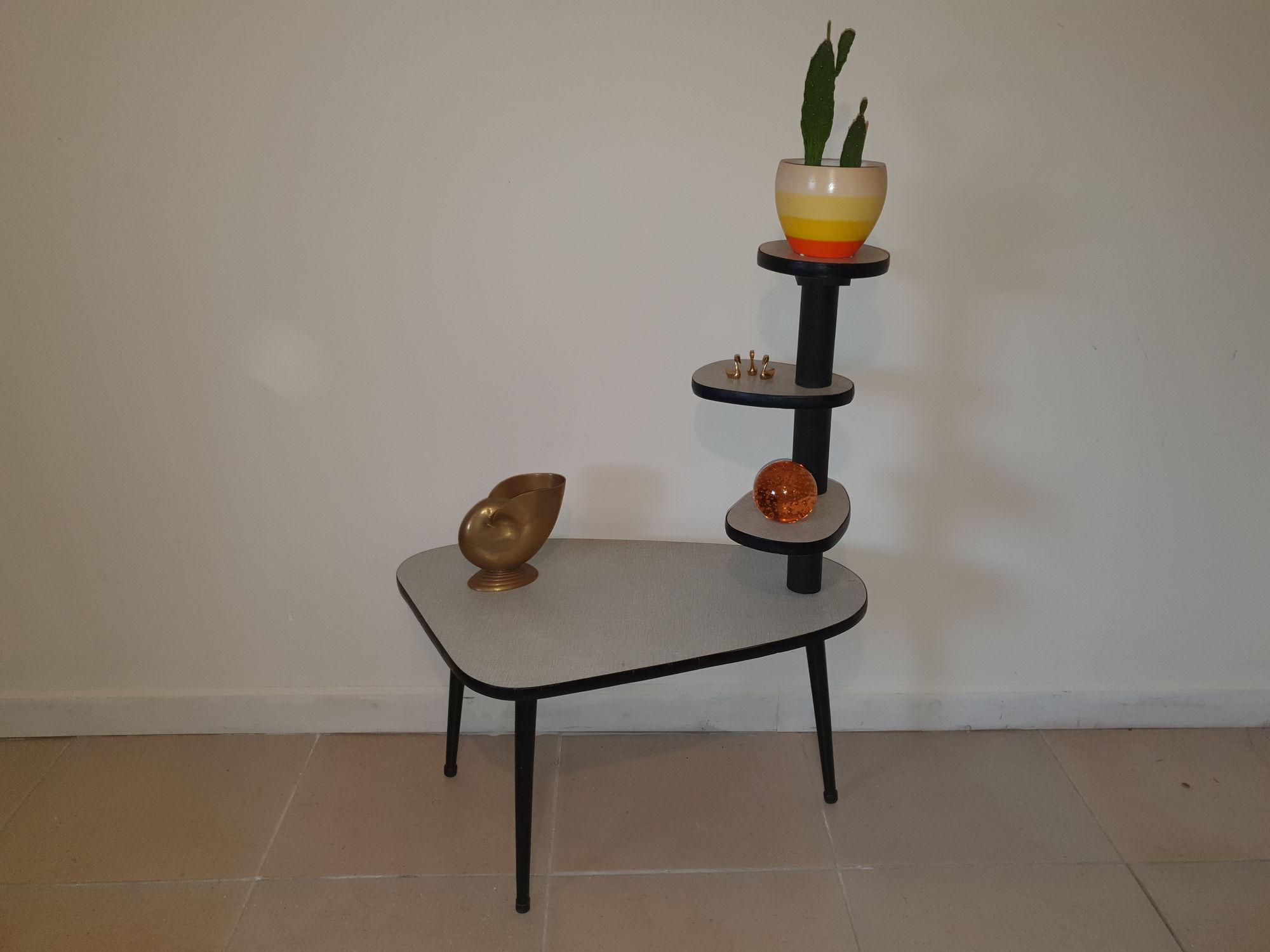 Plantentafel zwart/wit