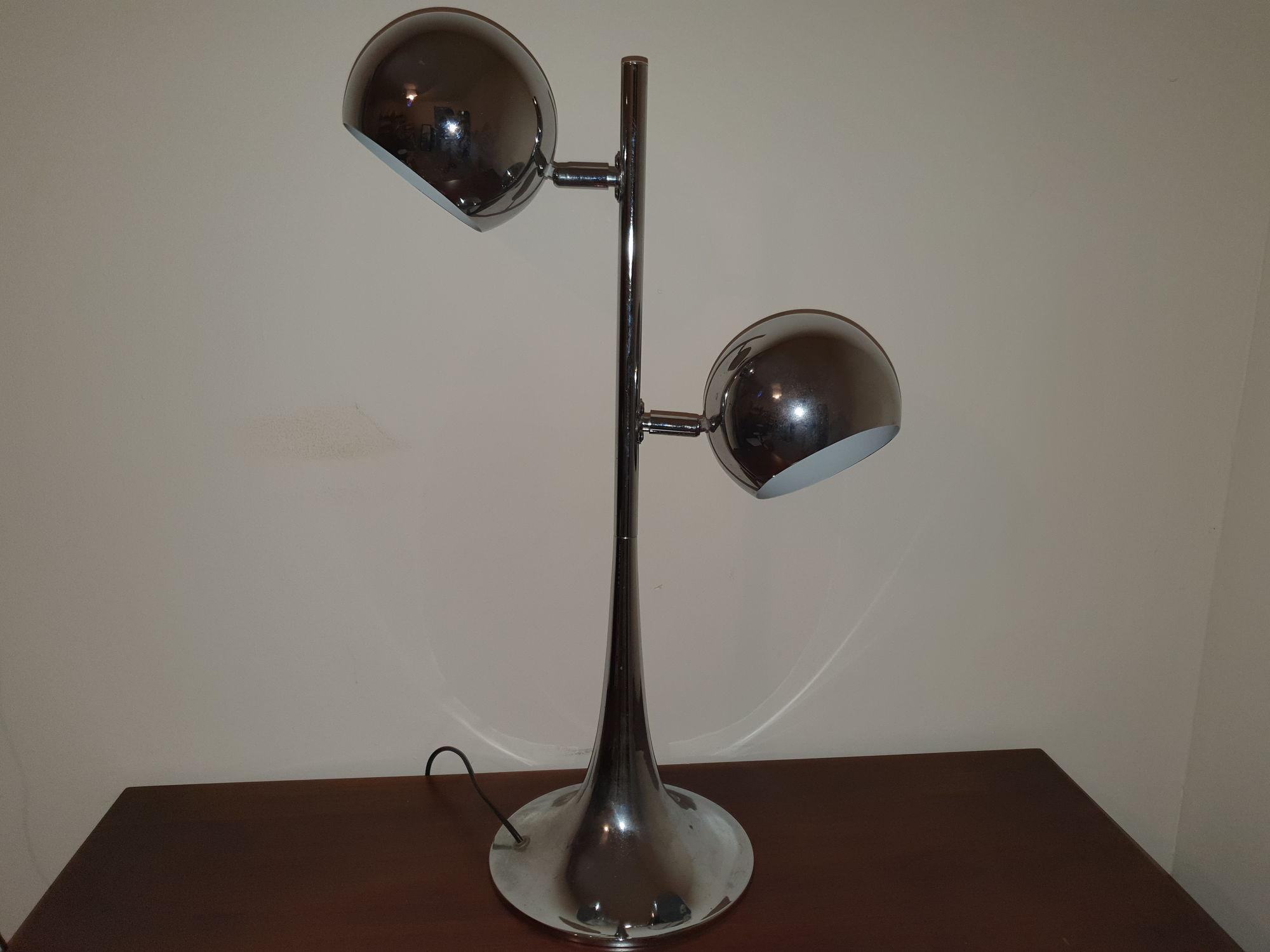 Chrome bureaulamp