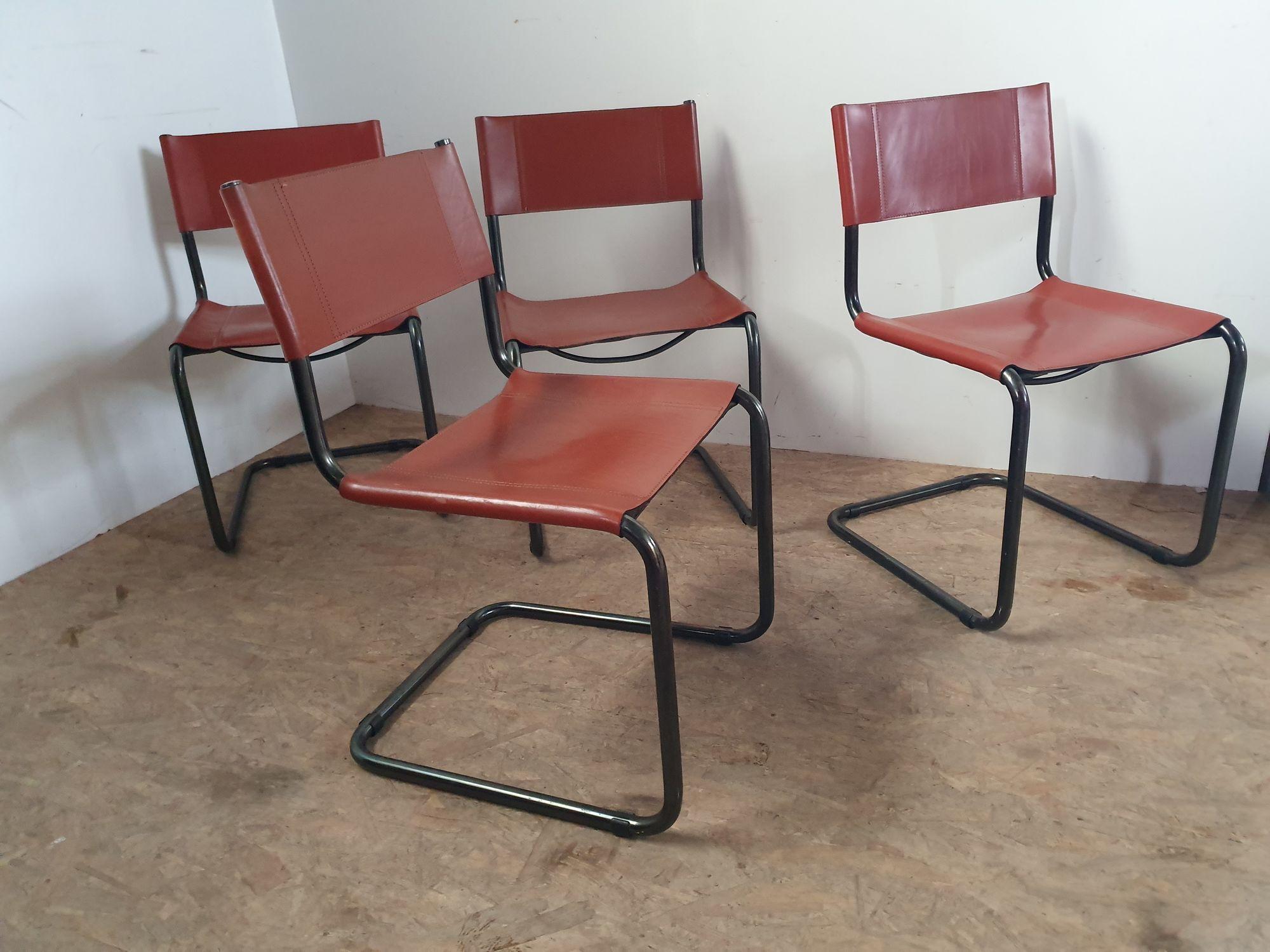 Set 4 stoelen