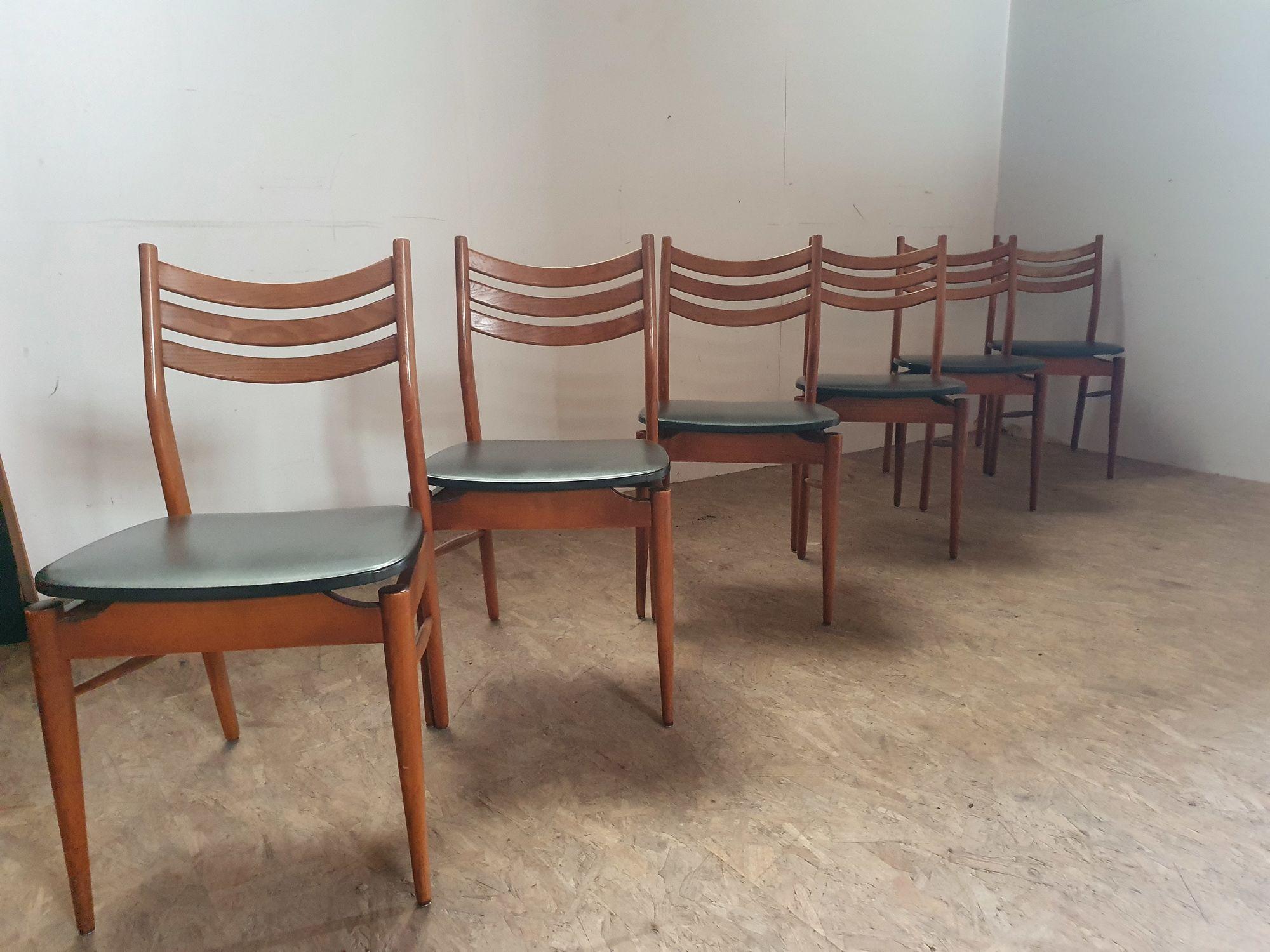 Set 6 stoelen