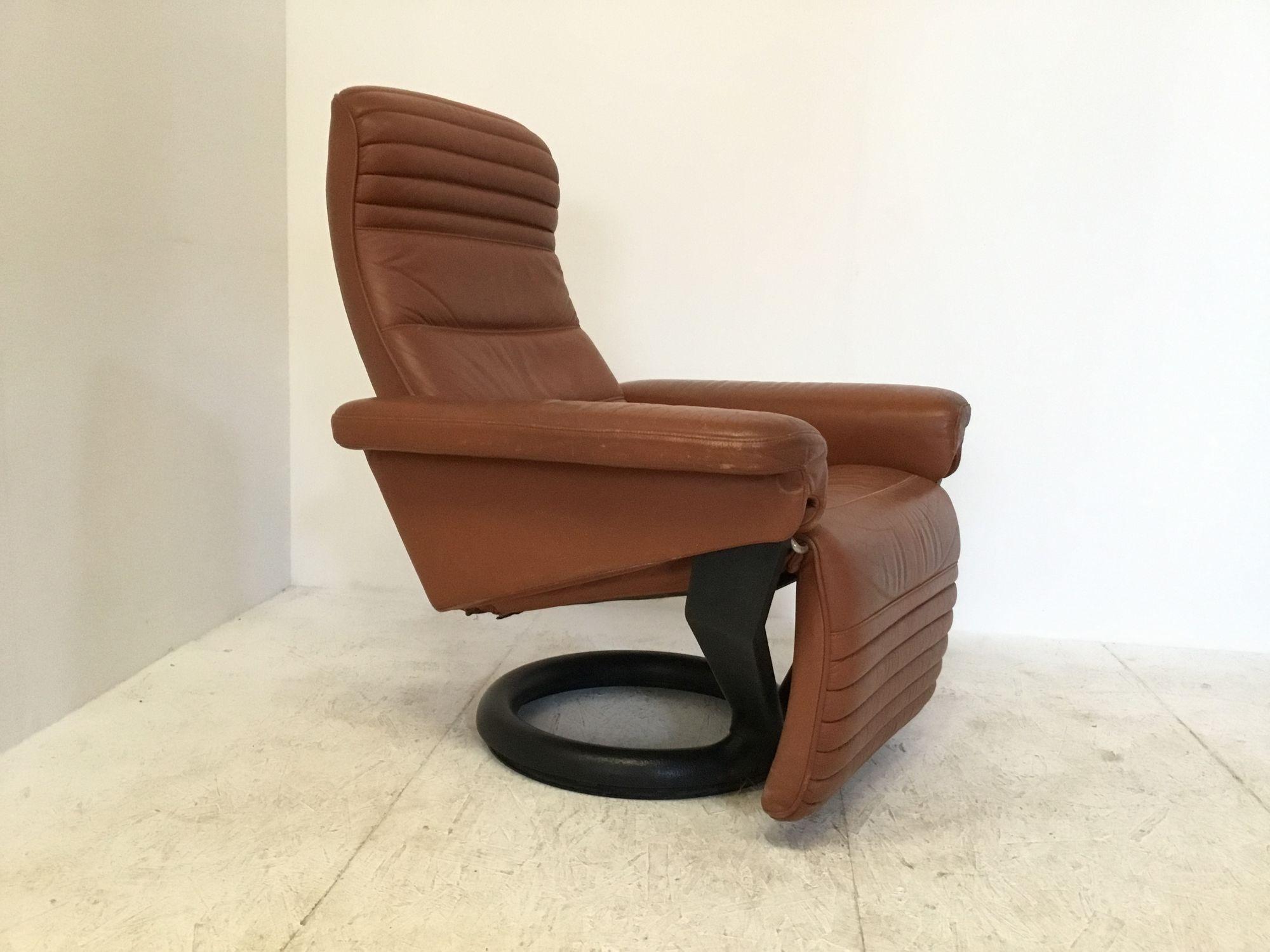 Vintage Deense relax fauteuil