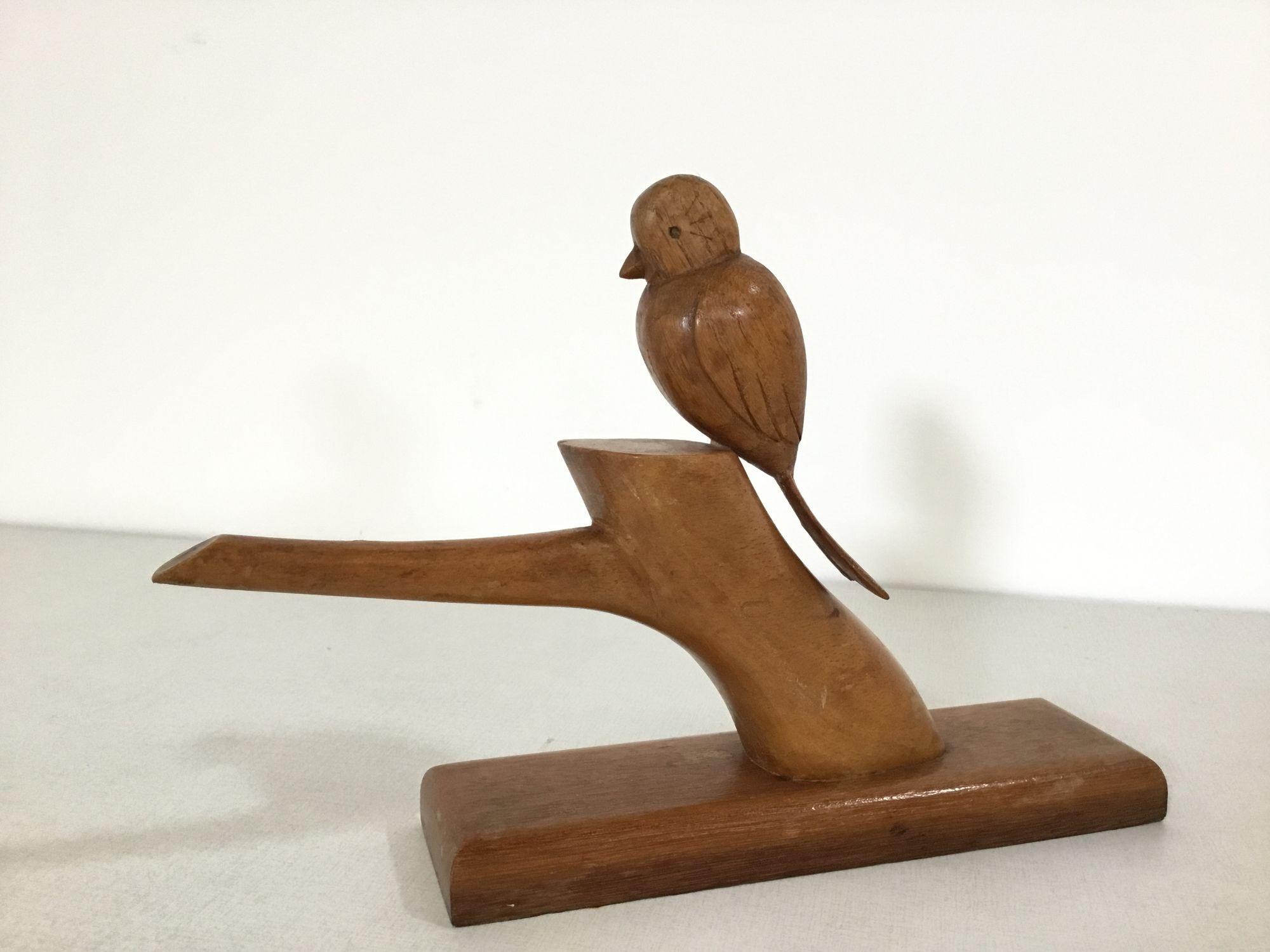 houten vogeltje