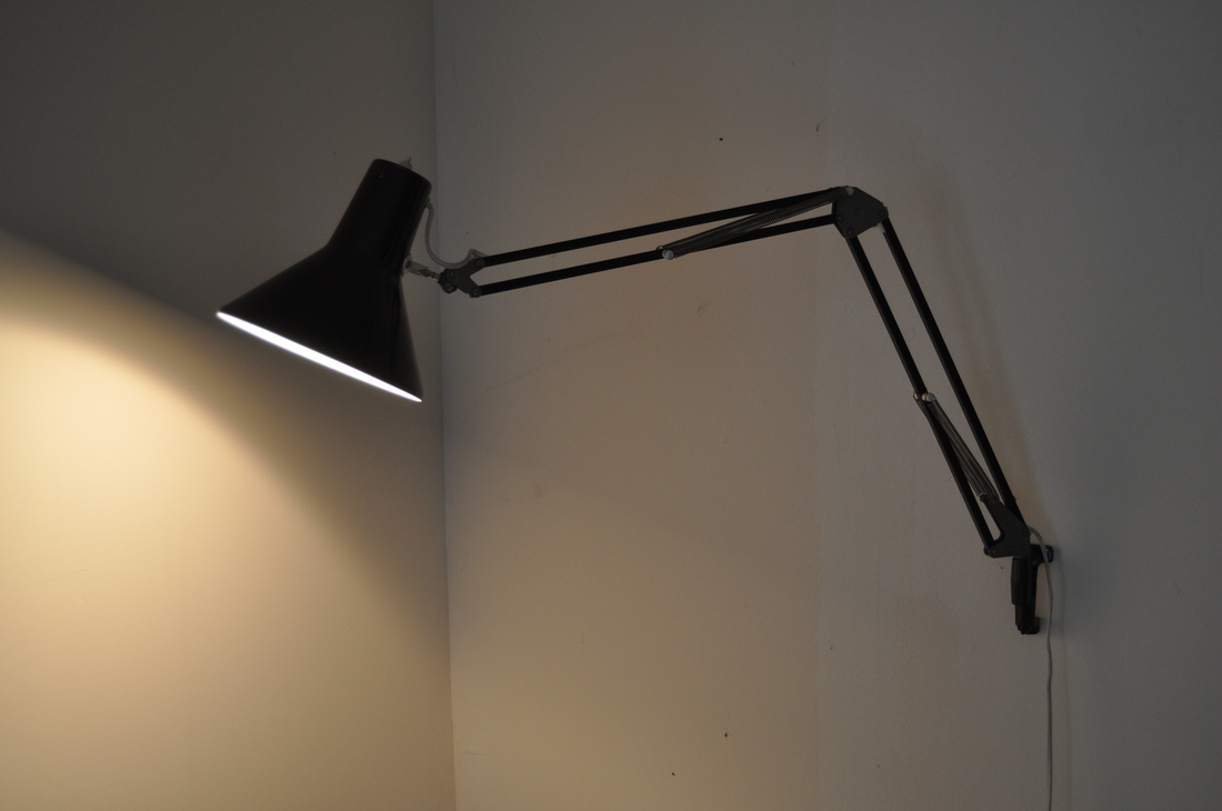 schaarlamp bruin